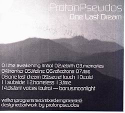 ProtonPseudos - One Last Dream